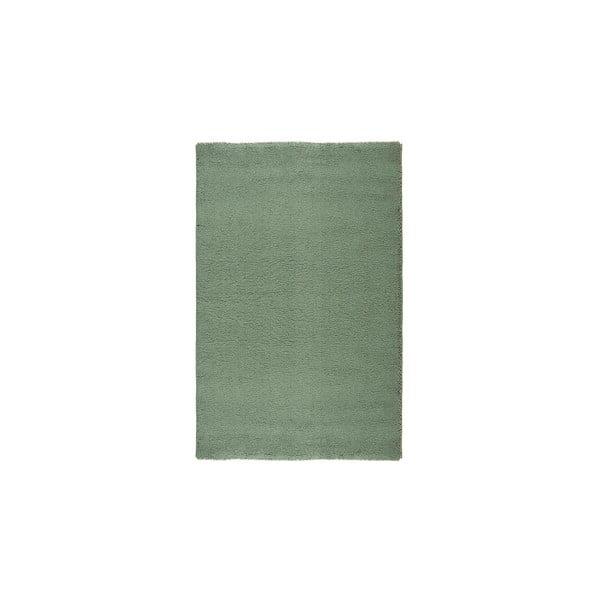 Dywan wełniany Pradera, 140x200 cm, zielony