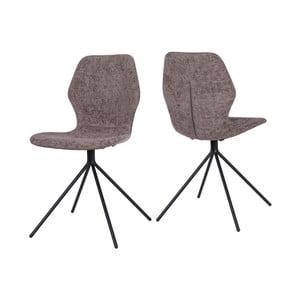 Brązowe krzesło Canett Tristian