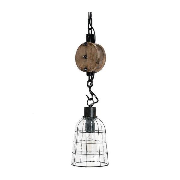 Lampa sufitowa Wooden Glass