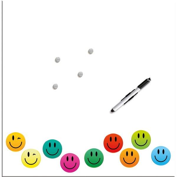 Tablica magnetyczna Eurographic Smiley, 50x50 cm