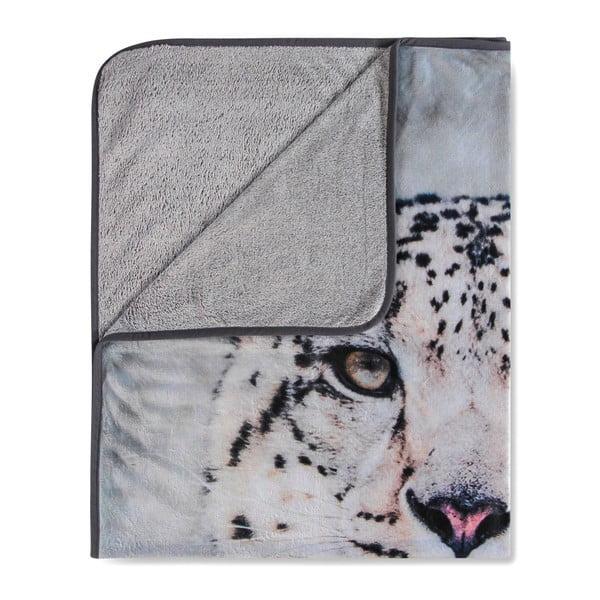 Koc Muller Textiels Snow Leopard Grey, 130x160 cm