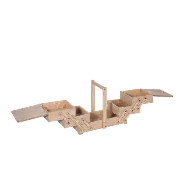 Skrzynka na przybory do szycia Atelier, 36x16x29 cm