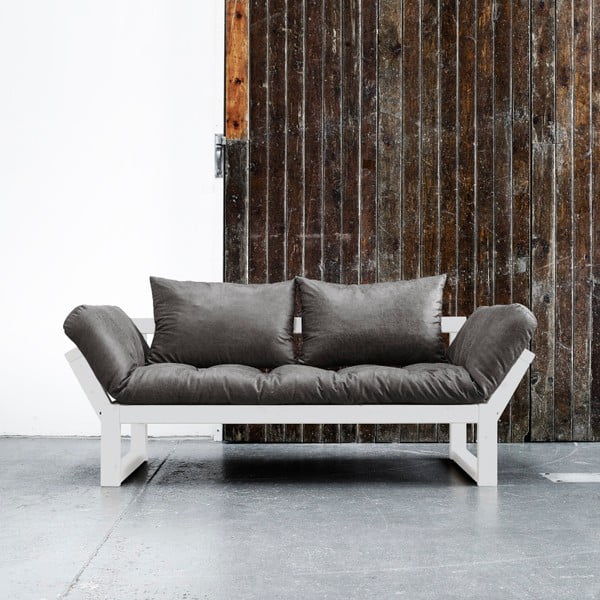 Sofa Karup Vintage Edge White/Black