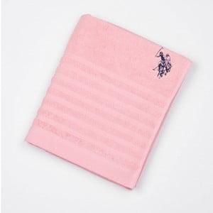 Ręcznik US Polo Bath Towel Pink, 90x150 cm