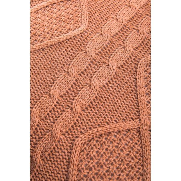 Poduszka Kosem Brick, 43x43 cm, brązowa