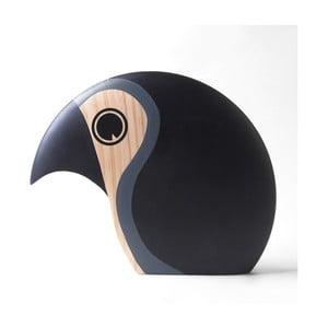 Dekoracja w kształcie ptaszka z szarymi elementami Architectmade Discus