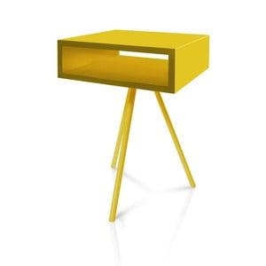 Żółty stolik Vintme AL2