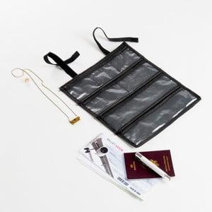Podróżny organizer na biżuterię Jet, 26x32 cm