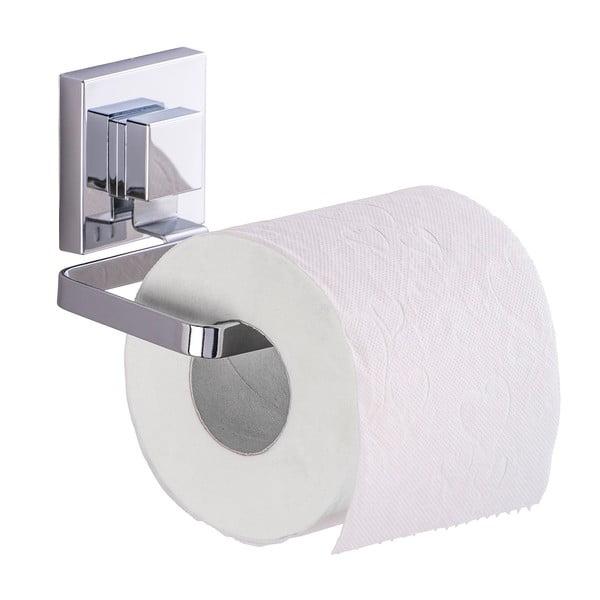 Uchwyt na papier toaletowy z przyssawką Wenko Vacuum-Loc Quadrio, do 33 kg