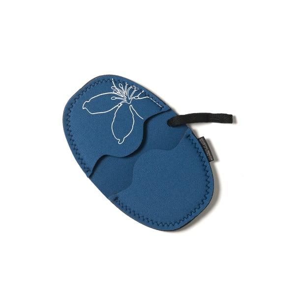Komplet 2 neoprenowych rękawic kuchennych Oval Blue