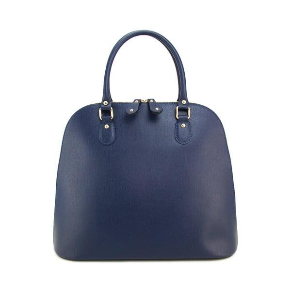 Skórzana torebka Giada Blu