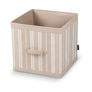 Duże pudełko na ubrania Domopak Stripes