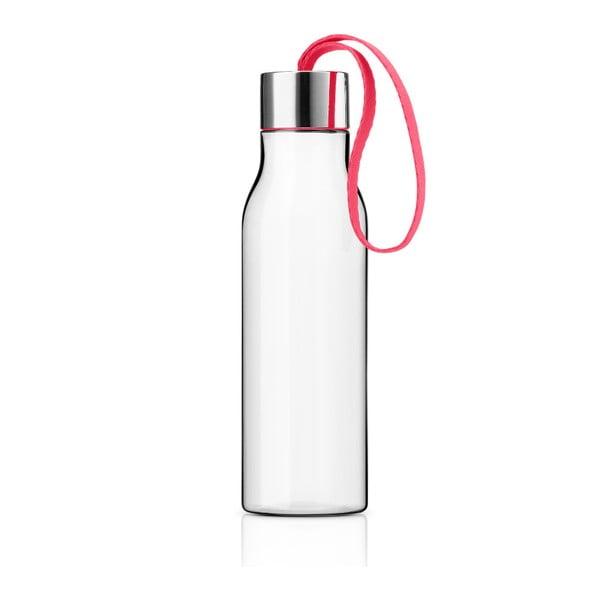 Butelka na wodę 0,5 l Eva Solo, troczek różowy