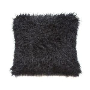 Czarna poduszka Santiago Pons Fluffy, 45x45 cm