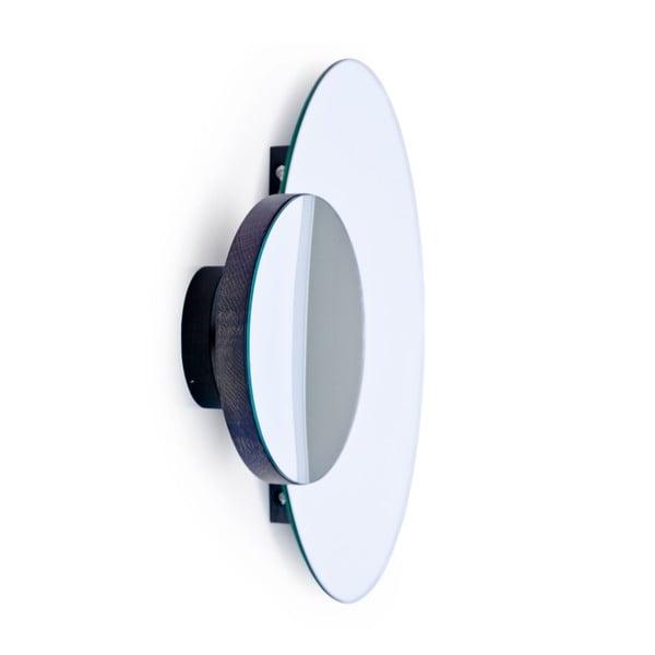 Podwójne lustro naścienne Wireworks Mezza Dark