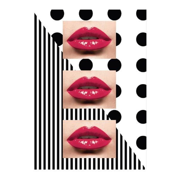 Obraz na płótnie Lips, 45x70 cm