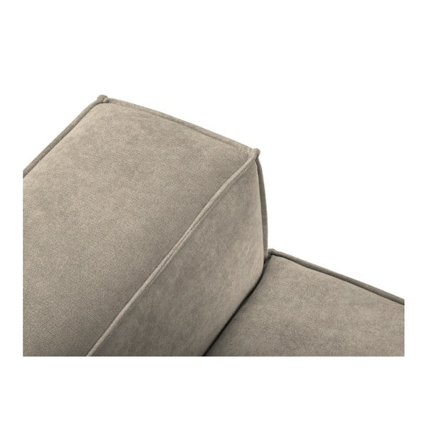 Szarobeżowa sofa 3-osobowa Kooko Home Modern