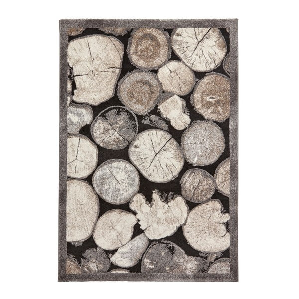 Dywan z motywem drewna Think Rugs Woodland, 120x170 cm