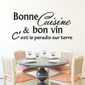 Naklejka Fanastick Cuisine & Bon Vin