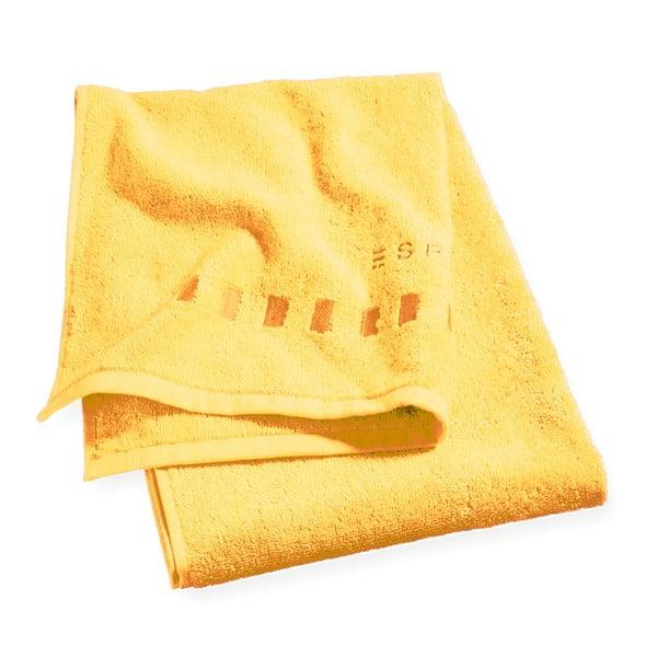 Ręcznik Esprit Solid 50x100 cm, żółty