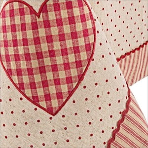 Obrus   Bizzotto Anna Red Heart, 140x180 cm