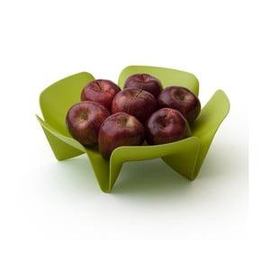 Miska na owoce QUALY Flower Fruit Tray, zielona