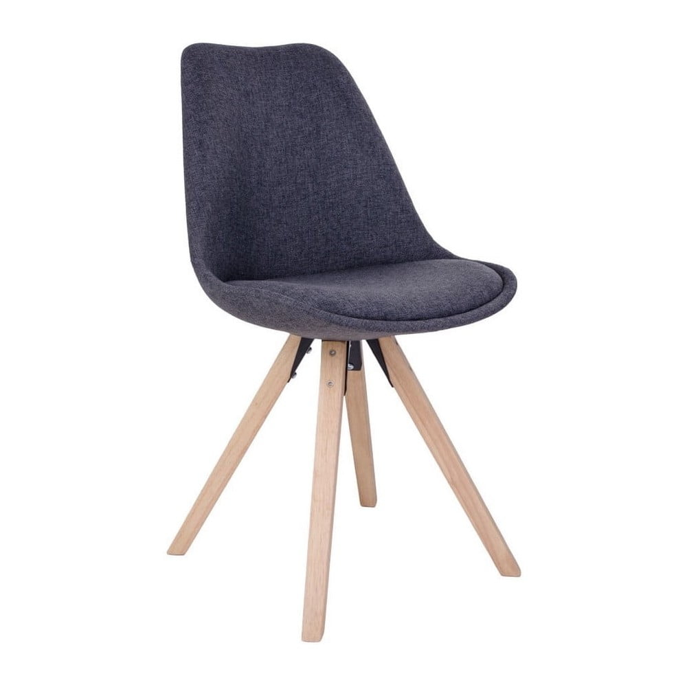 Zestaw 2 ciemnoszarych krzeseł House Nordic Bergen