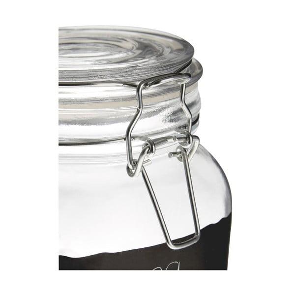 Pojemnik szklany z naklejką (można pisać kredą) Premier Housewares, 900 ml