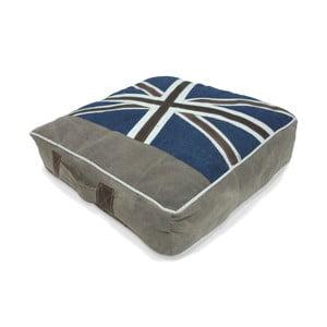 Poduszka na krzesło London Denim, 50x50x10 cm