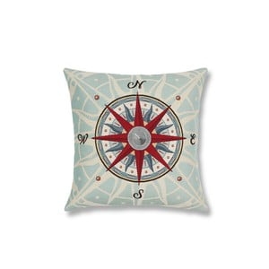 Poszewka na poduszkę Maritim Compass, 45x45 cm