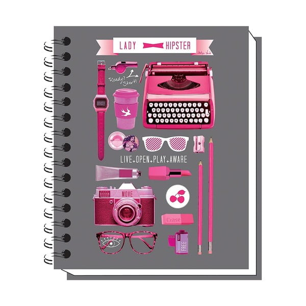Notatnik Lady Hipster