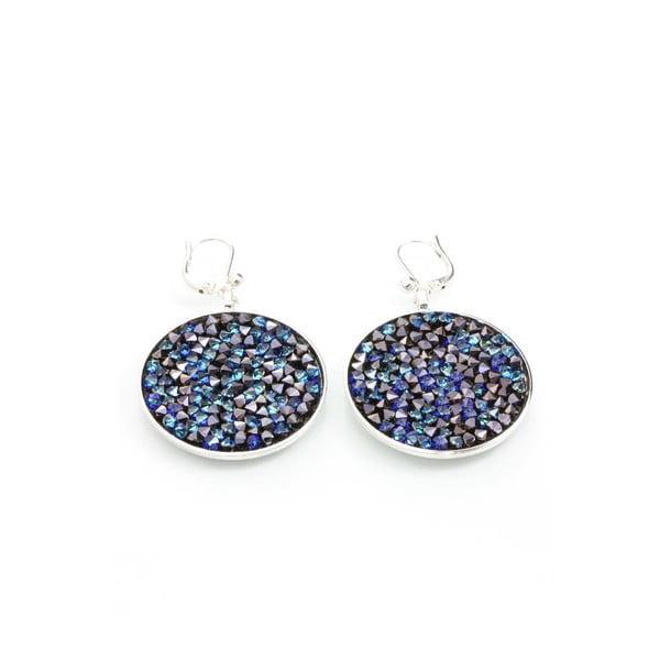 Kolczyki z kryształami Swarovskiego Yasmine Rhine