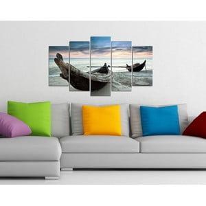 5-częściowy obraz Plaża