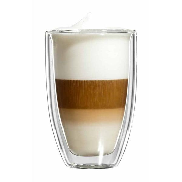 Zestaw 6  dużych szklanek na latte macchiato bloomix