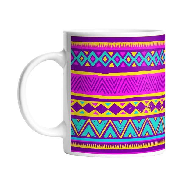 Kubek ceramiczny Aztec Style, 330 ml