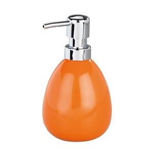 Pomarańczowy dozownik do mydła Wenko Polaris Orange