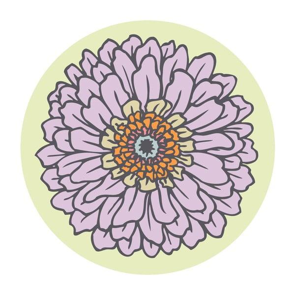 Naklejki Flower, beige, 4 szt