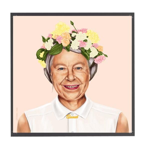 Obraz Queen Elizabeth, 50x50 cm