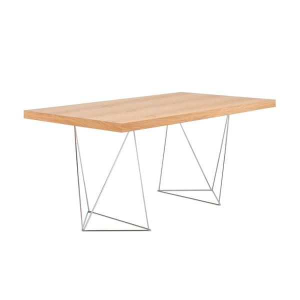 Jasnobrązowy stół do jadalni TemaHome Trestle, dł. 180 cm