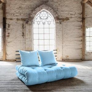 Sofa rozkładana Karup Shin Sano Black/Celeste