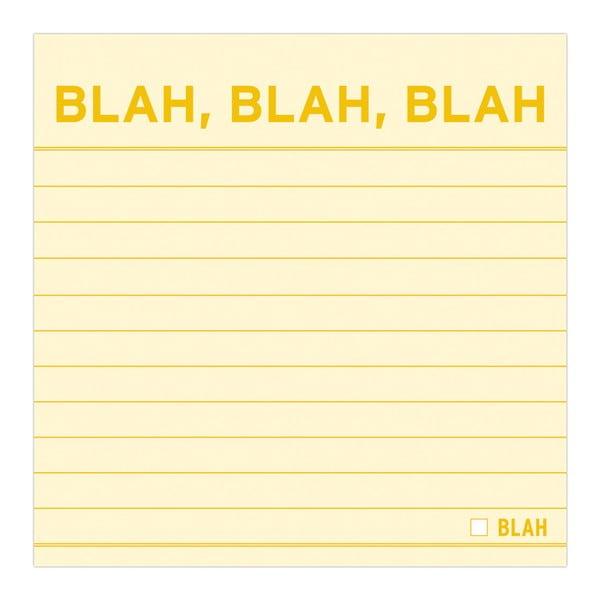 Karteczki samoprzylepne Blah, Blah, Blah
