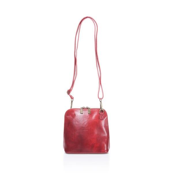 Czerwona torebka skórzana Medici of Florence Francesca