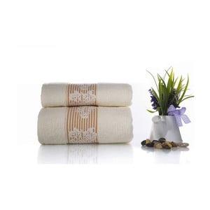 Zestaw 2 ręczników Suave V4, 50x90 cm + 70x140 cm