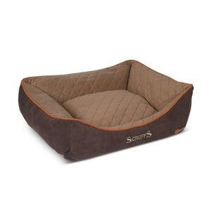 Legowisko dla psa Thermal Bed 90x70 cm, brązowe
