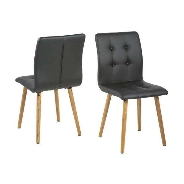 Krzesło do jadalni Frida, czarne