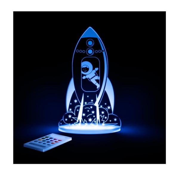 Dziecięca lampka nocna LED Aloka Rakieta