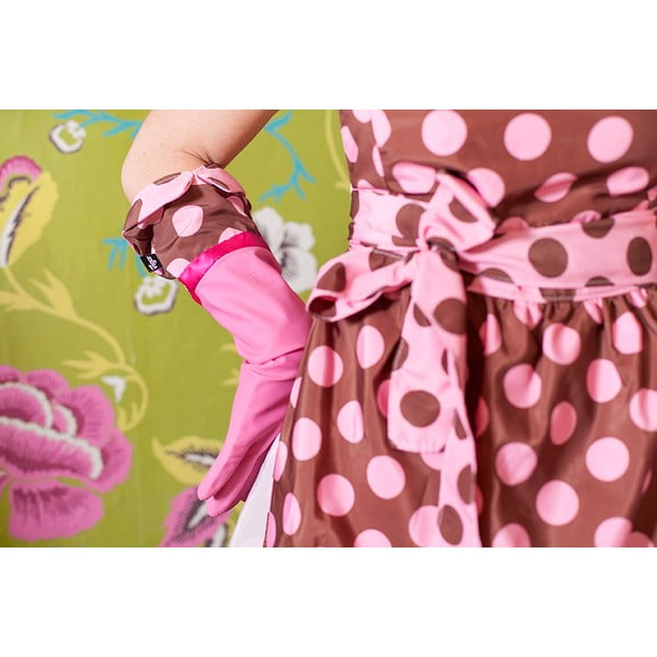 Rękawice do zmywania Vigar Polka Dot