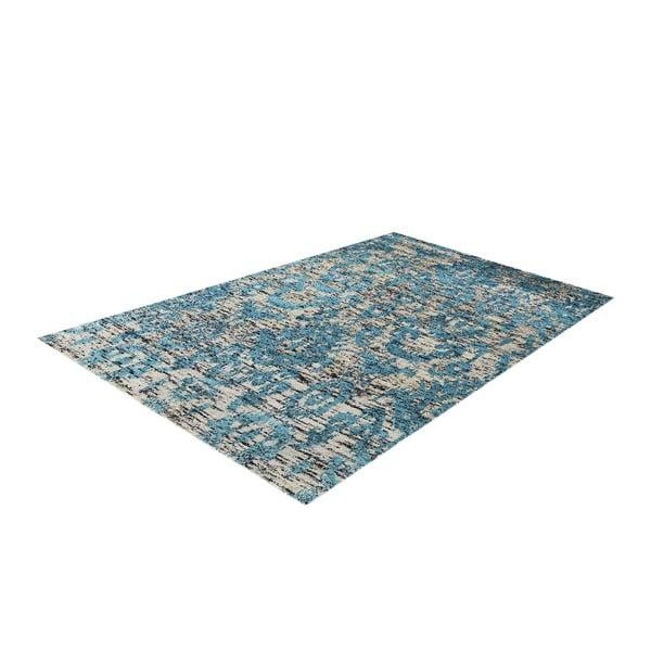 Dywan tkany ręcznie Ikat Turquoise, 160x230cm