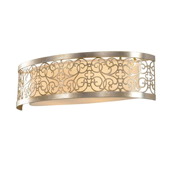 Kinkiet Arabesque Two Silver