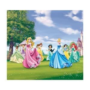 Foto zasłona AG Design Disney Królewny II, 160x180cm